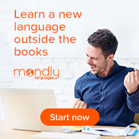 Learn a new language outside the books with Mondly
