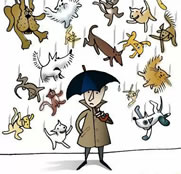 Translations Of It S Raining Cats And Dogs In Many Languages
